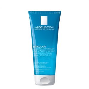 La roche posay effaclar purifying foaming gel for oily and acne prone skins. Formulated without soap, without alcohol, without dyes or parabens. 200ml 6.76 FL.OZ