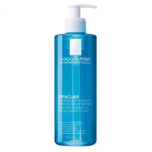 La roche posay effaclar purifying foaming gel for oily and acne prone skins. Formulated without soap, without alcohol, without dyes or parabens. 400ml13.52 FL. OZ.