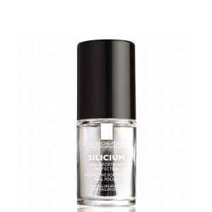 La Roche Posay Silicium Protective Top Coat is a transparent polish length and protector, which can be applied directly in the fragile and breakable nails to strengthen, or applied after the manicure to prolong the color and avoid wear nail. 6ml