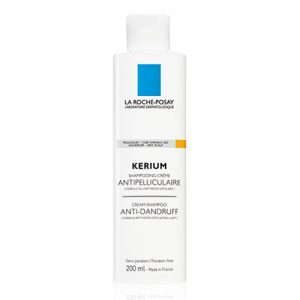 La Roche Posay has launched the La Roche Posay Kerium Cream Shampoo Anti-Dandruff with a micro-exfoliating action of the scalp, to eliminate the dandruff and to regulate the speed with which the scalp peels off. 200ml