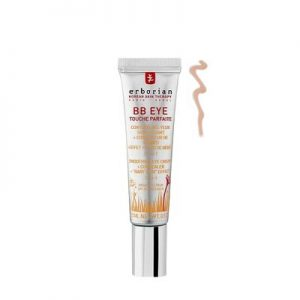 Erborian BB Eye Touche Parfaite is a 3-in-1 eye contour: smoothing eye cream + concealer of dark circles + SPF20 sunscreen. The contour of the eyes is illuminated, protected and younger. 15ml