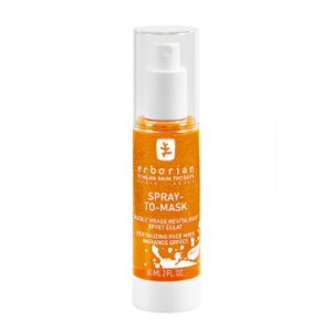 Erborian Spray to Mask is a revitalizing face mask which provides an immediate feeling of freshness and vitality. Fine lines are attenuated and the skin is filled and luminous. 60ml
