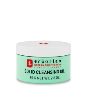 Erborian solid cleansing oil is a cleansing balm that combines the efficacy of removing makeup from an oil and the softness and care of a skin's moisturizer. Suitable for all skin types, even oily ones. 80g