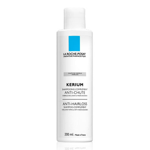 La roche posay kerium anti-hairloss shampoo is a shampoo that boosts hair loss treatment. It is ideal for both men's and women's hair hygiene. The hair gets light, beautiful and shiny. 200ml
