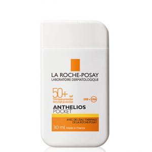 La roche posay anthelios pocket spf50 sun protection face and body 30ml