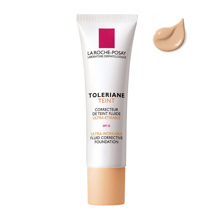 La Roche Posay Toleriane teint fluid ultra-workable foundation has a fine and gentle texture, suitable for all kind of sensitive or intolerant skins. 30ml