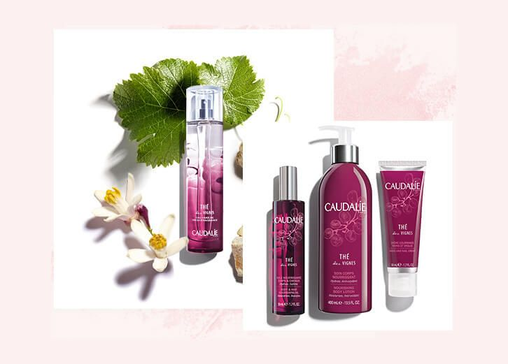 Lyskin Caudalie Thé des Vignes New Collection
