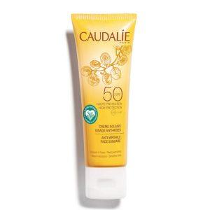 Caudalie spf50 anti-wrinkle face suncare 50ml