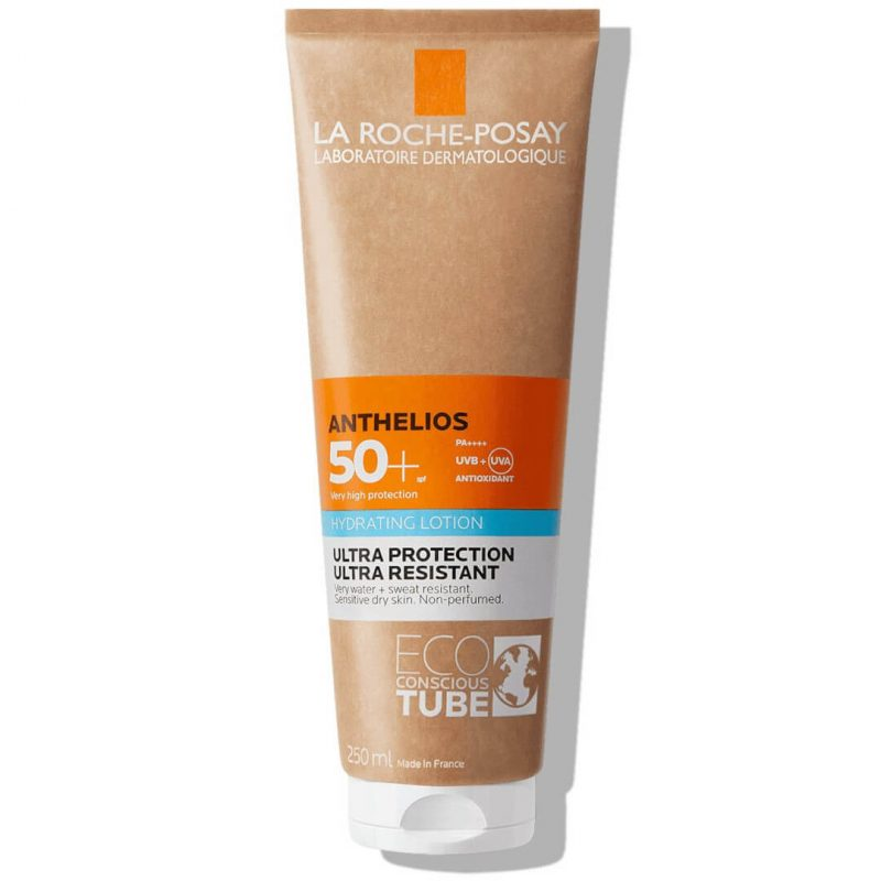 La roche posay anthelios hydrating body lotion spf50 eco-responsible tube 250ml