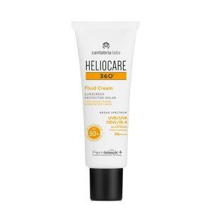 Heliocare 360º sun protection fluid cream spf50