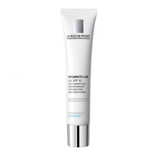 La roche posay pigmentclar uv spf30 anti-dark spots is a moisturizing day cream for hyperpigmented stains with SPF30 sunscreen. After 4 weeks of daily treatment, the spots are significantly attenuated. 40ml