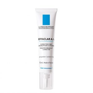 La roche posay effaclar a.i. targeted breakout corrector is a localized anti-acne treatment. Developed to be applied directly on the imperfections of oily skin. 15ml