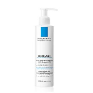 La roche posay effaclar h derma-soothing hydrating cleansing cream for oily skin 200ml