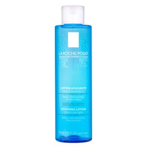 La roche posay soothing toner which perfectly completes the skin cleansing routine. Applied after cleansing the skin, it aims to soften the complexion, sharpen the pores, finish the cleansing and leave the skin hydrated to receive the following moisturizing care. Formulated with soothing and toning ingredients, it is ideal for all skin types, even the most sensitive. With a physiological pH, it was developed without soap, without alcohol, without dyes and without parabens. 200ml