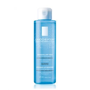 La Roche Posay eye make-up remover, which respects the lacrimal pH. Gently removes eye makeup while maintaining the tolerance of eyelids sensitive skin. 125ml