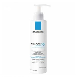 La roche posay cicaplast b5 wash purifying foaming gel for irritated skin 125ml