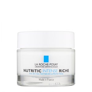 La Roche Posay Nutritic Intense Rich is a creamy, ultra-nourishing cream that replenishes the upper layers of the skin. Indicated for dry and very dry skin with a pulling sensation. 50ml