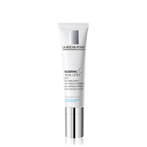 La Roche Posay Redermic C Eyes is an anti-aging care moisturizing adapted to the sensitive skin of the eye contour. It is indicated for wrinkles treatment, crow's feet, fine lines of dehydration and slight drooping of the eyelids. 15ml