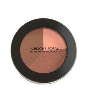 La Roche Posay Toleriane Teint Bronzing Powder imparts a naturally healthy and lightly tanned air. The subtly irisate colors (with golden nacres) adapt to lighter or darker skin tones. 12g
