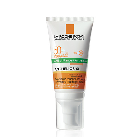 La roche posay anthelios xl spf50[+] tinted dry touch gel-cream anti-shine 50ml