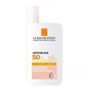 La roche posay anthelios shaka fluide tinted spf50 sun protection 50ml