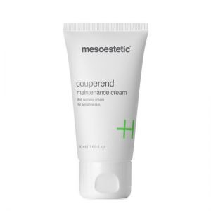 Mesoestetic Couperend Maintenance Cream is indicated for the treatment of couperose or rosacea in hypersensitive and reactive skins with tendency to redness. 50ml