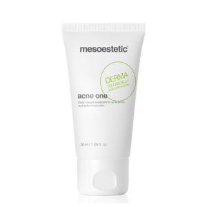 Mesoestetic Acne-One is a cream specially developed to control effectively the skins with tendency to generate acne and seborrheic on moderate terms. 50ml