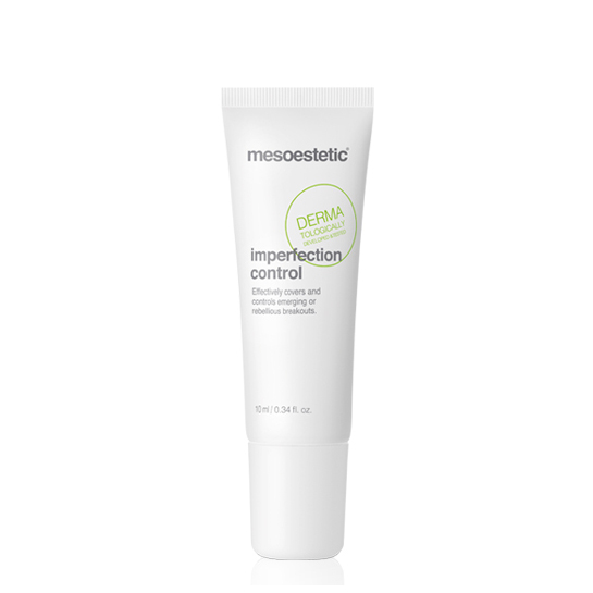 Mesoestetic Acne-Peel Imperfection Control is a localized treatment cream for specific application on acne imperfections. 10ml