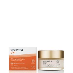 Sesderma c-vit moisturizing facial cream 50ml