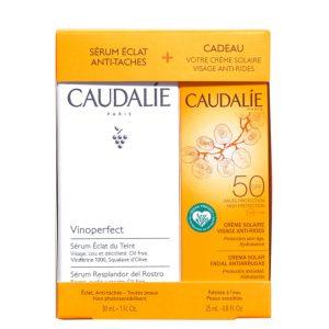 Caudalie coffret serum vinoperfect & solaire
