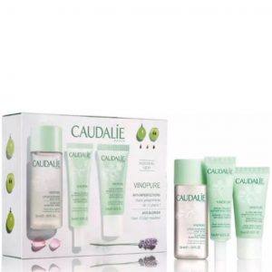 Caudalie vinopure clear skin discovery kit with 3-pieces