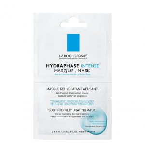 La roche posay hydraphase intense moisturizing mask is a face mask for dehydrated, sensitive and sagging skin. In less than 1 hour the skin hydration increases 65%. 2x6ml