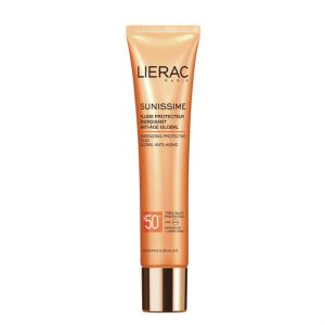 Lierac sunissime spf50 energizing protective fluid global anti-aging 40ml