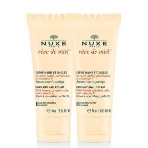 Nuxe rêve de miel duo hand and nail cream 2x50ml