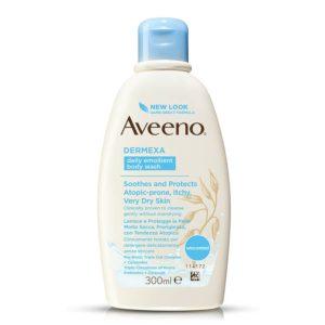 Aveeno dermexa emollient body wash fragrance-free 300ml