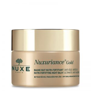 Nuxe nuxuriance gold night balm nutri-fortifying for mature skin 50ml
