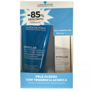 La roche posay set effaclar duo + effaclar cleansing gel 200ml