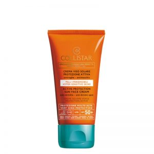 Collistar Active Protection SPF50 Face Sun Cream 50ml