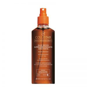 Collistar Supertanning SPF6 Moisturizing Dry Oil 200ml