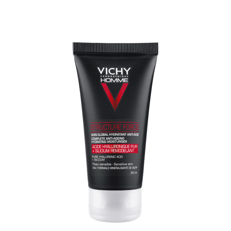 Vichy homme structure force anti-ageing moisturiser face and eyes 50ml