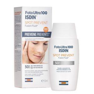 Isdin fotoultra 100 spot prevent spf50 fusion fluid 50ml