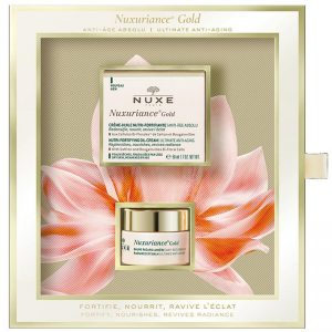 Nuxe Nuxuriance Gold Gift Set.