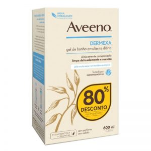 Aveeno Dermexa Duo Emollient Body Wash 2x300ml