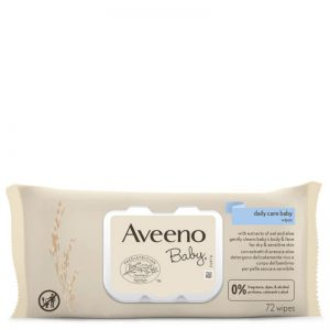 Aveeno baby wipes for baby's sensitive skin 72units