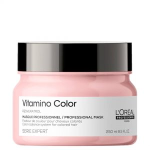 Loreal Professionnel Série Expert Vitamino Color Mask is a creamy care for colored hair, which protects and nourishes the color. 250ml