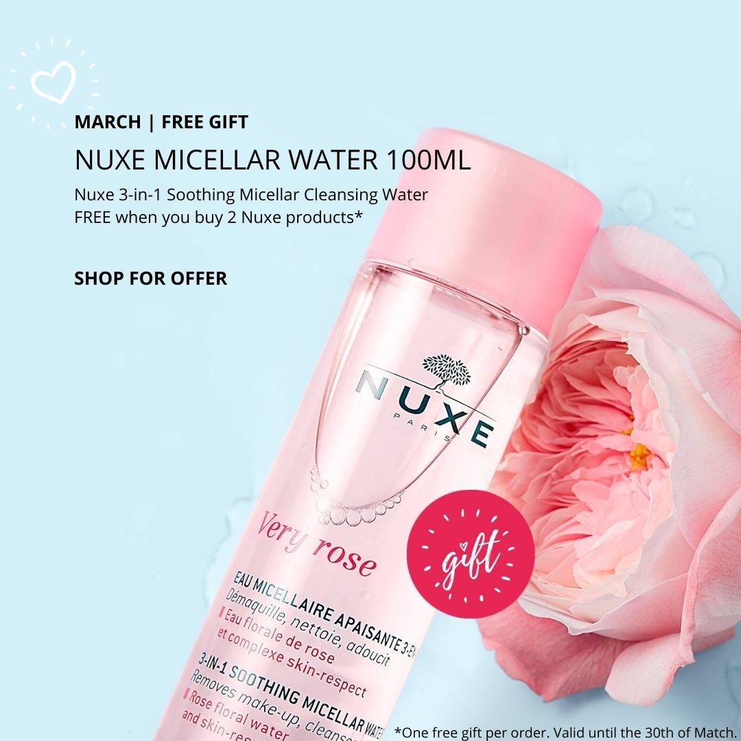 GIFT PURCHASE   Nuxe Very Rose 3-in-1 Micellar Cleansing Water 100ml
