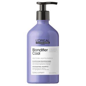 Loreal professionnel série expert blondifier cool shampoo blonde hair 500ml