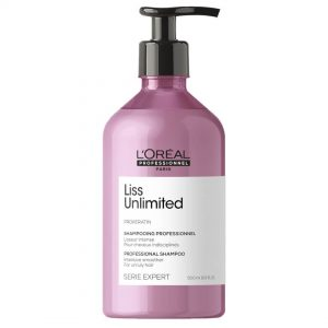 Loreal professionnel série expert liss unlimited shampoo anti-frizz 500ml