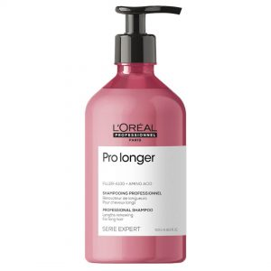 Loreal Professionnel Série Expert Pro Longer Shampoo is a professional care with renewing action of the lengths and ends of the hair. 500ml