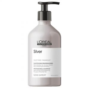 Loreal professionnel série expert silver shampoo grey and white hair 500ml